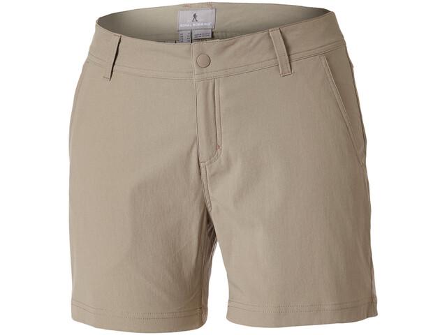 "Royal Robbins Alpine Road 5"" Shorts Damen khaki"